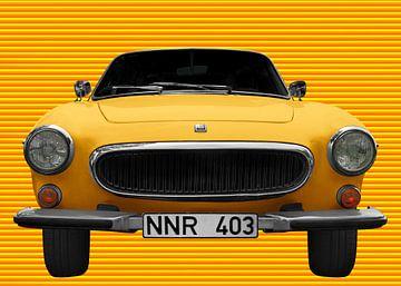 Volvo P1800 in Yellow-Yellow von aRi F. Huber