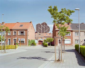 Op straat in Hasselt van Johan Vanbockryck