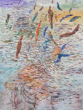 pictura abstarcta von Petrica Stefan
