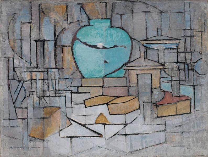 Piet Mondriaan. Stilleven met gemberpot van 1000 Schilderijen