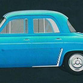 Renault Gordini Dauphine 1957 von Jan Keteleer