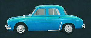 Renault Gordini Dauphine 1957 van Jan Keteleer