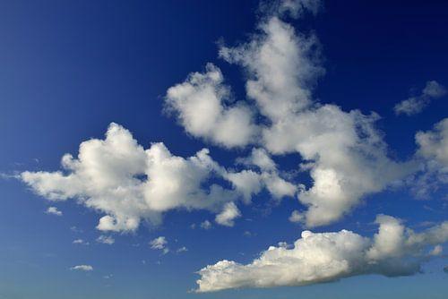 Wolkenlucht von Sjoerd van der Wal