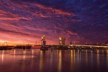 Stadtbrücke Kampen am Vormittag von Fotografie Ronald