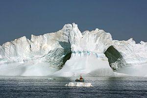Un iceberg géant dans la baie de Disko
