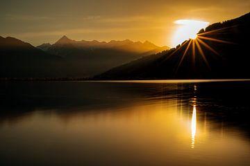 Sonnenuntergang in Zell am See - Salzburgerland - Österreich