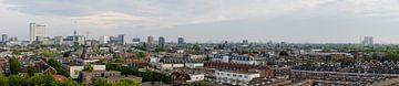 Panorama van de stad Rotterdam, Netherlands von Martin Stevens