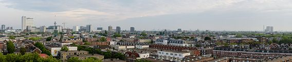 Panorama van de stad Rotterdam, Netherlands