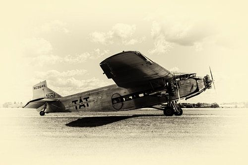Ford 5-AT-B Trimotor at EAA Airventure.