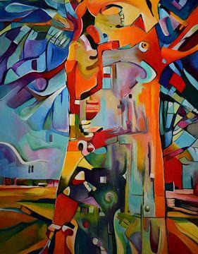"""digitale boom van Janny Schilderink......Atelier """"de Tuute """""""