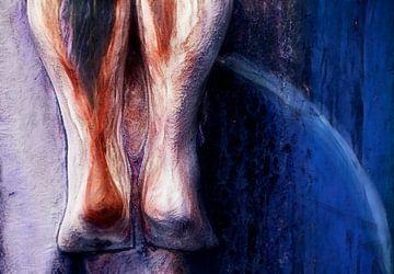 Vrouwelijk lichaam 3 von Marcel van Balken