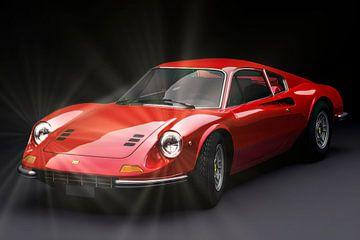 Ferrari 246GT Dino van Gert Hilbink