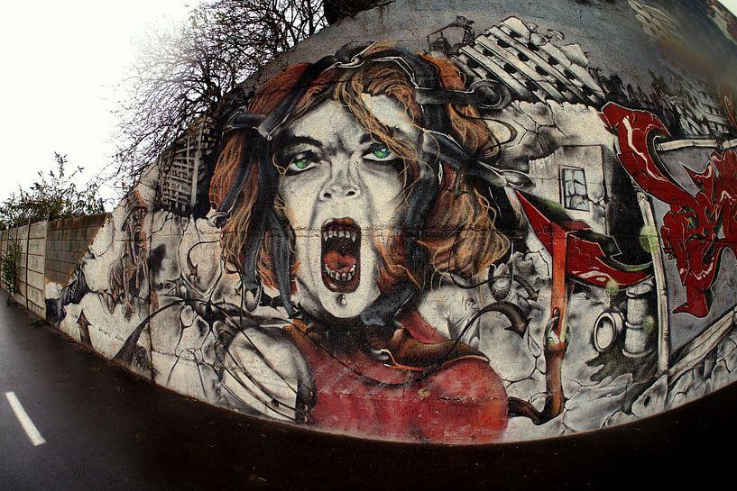 Street Art van Redroof Productions
