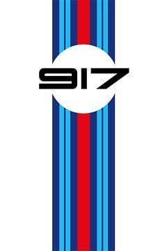 917 Martini Racing Design van Theodor Decker