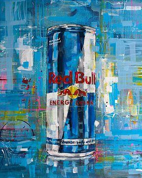 Red Bull schilderij van Jos Hoppenbrouwers
