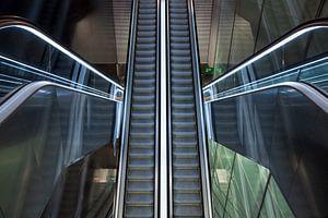 Metro CollBlanc L9 Sud, Barcelona van Maurice Moeliker