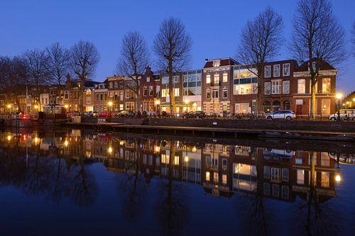 Bemuurde Weerd Oostzijde in Utrecht van Donker Utrecht