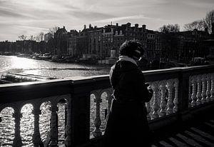 Zwart-Wit Amsterdam van Dutch Creator