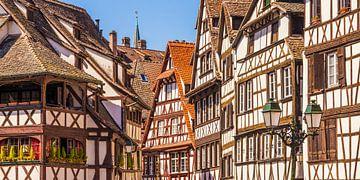 Le quartier des tanneurs La Petite France à Strasbourg sur Werner Dieterich