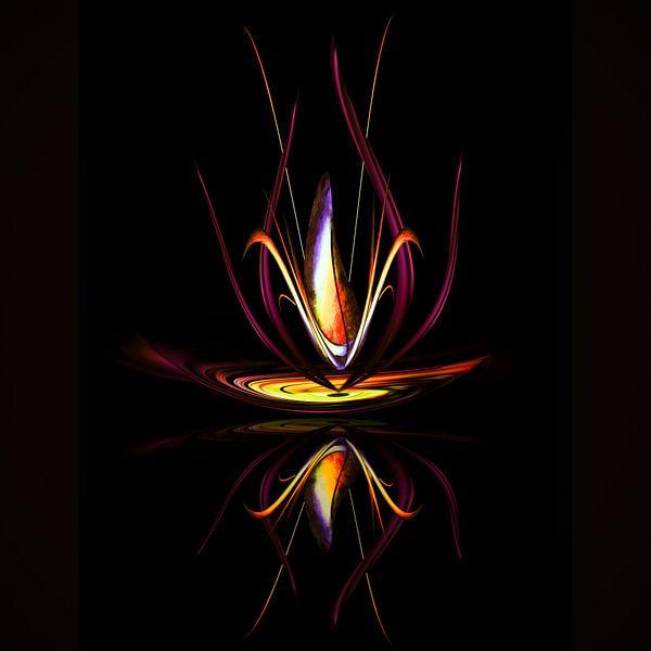 Magisch licht en energie 5 van Walter Zettl