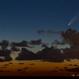 Komeet Neowise van Stefan Verheij