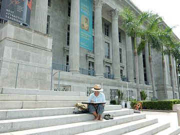 Maler in Singapur von Christine Volpert