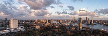 Panorama vanuit de Euromast van Prachtig Rotterdam