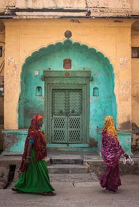 Vrouwen in Nawalgarh van