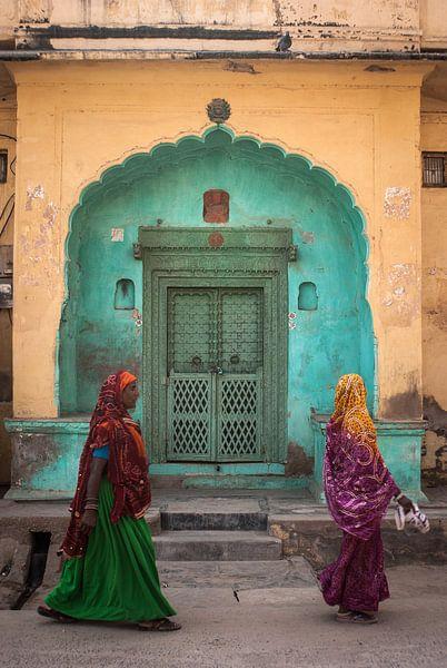 Vrouwen in Nawalgarh van Davied Meerstra