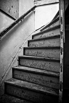 Alte Treppe von Dennis Claessens
