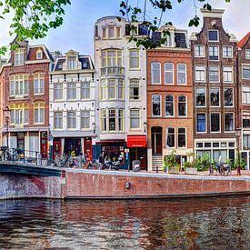 Prinsengracht hoek Runstraat Amsterdam van Hendrik-Jan Kornelis