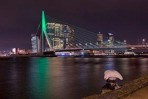Avond in Rotterdam  van