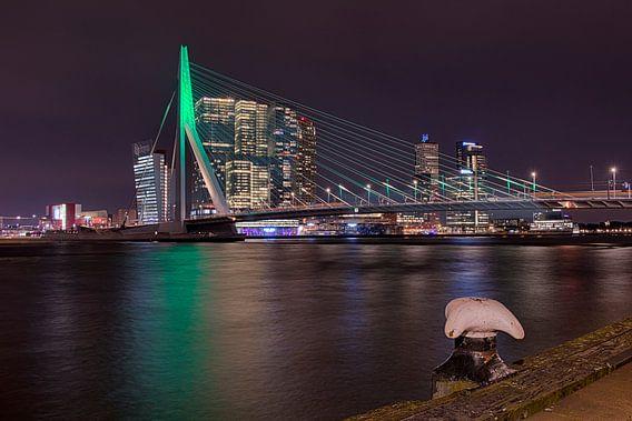 Avond in Rotterdam  van Raoul Baart