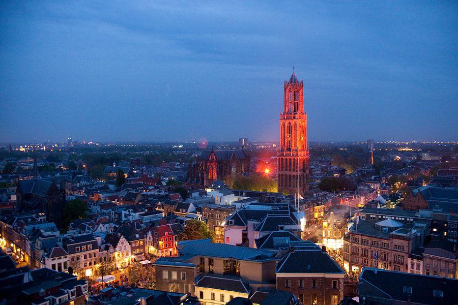 Domtoren Van Utrecht de Domtoren Van Utrecht Oranje