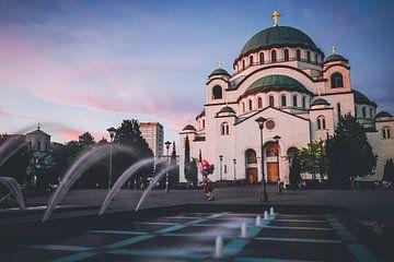 Belgrade - Cathédrale de Sainte-Sava sur Alexander Voss