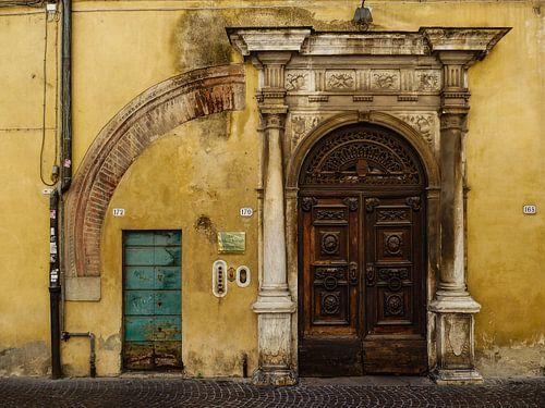 Old ancient doors van