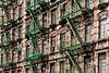 Brandtrappen voor New Yorkse wolkenkrabbers van Wout Kok thumbnail