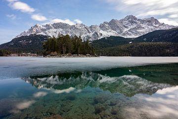 Eibsee im Winter