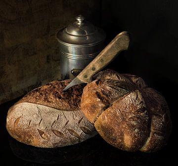 Rustiek brood van Miriam Meijer, en plein campagne.....
