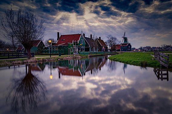 Zaanse Schans van Michael van der Burg