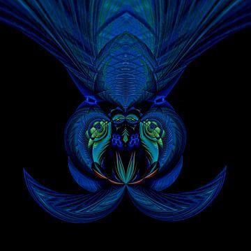Fantasierijke abstracte twirlillustratie 131/18 van PICTURES MAKE MOMENTS