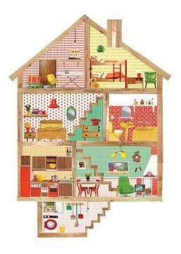 Puppenhaus von Petit Konijn