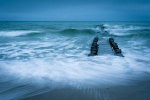 Stormachtige Oostzee van Martin Wasilewski