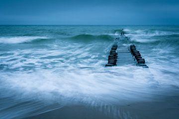 Stürmische Ostsee von Martin Wasilewski