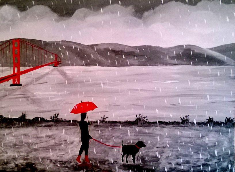 RED BLACK von Aat Kuijpers