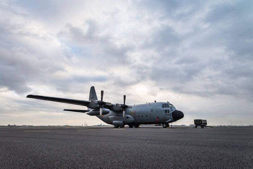 C-130 Hercules Belgische luchtmacht van Kris Christiaens