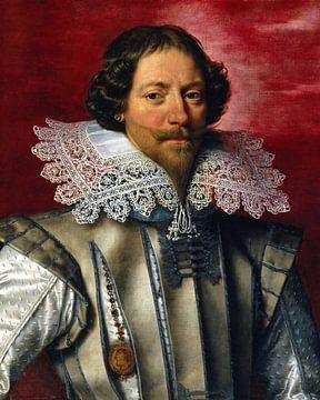 Portret van een man, Frans Pourbus de jongere - ca. 1600