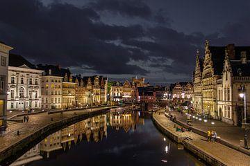 Sfeerbeeld Gent centrum van Ward Van Houtte
