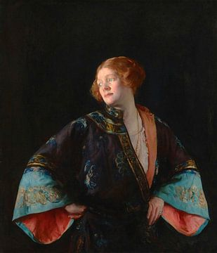 Der blaue Mandarinenmantel (Der blaue Kimono), Joseph DeCamp