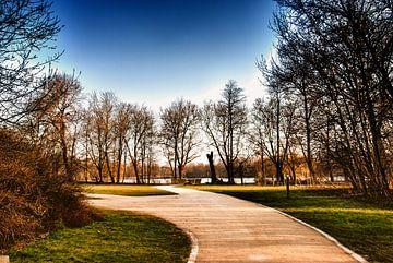 Herfst in het Park 02 van Manuel Declerck